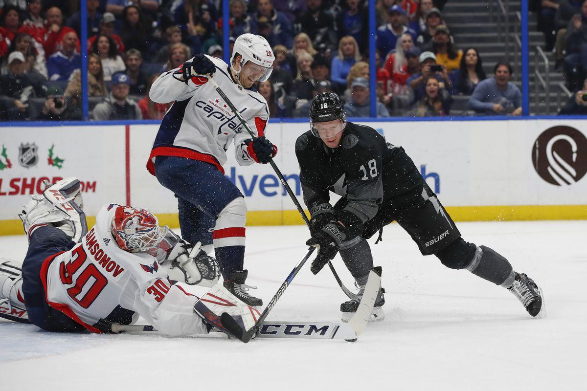 NHL: DEC 14 Capitals at Lightning