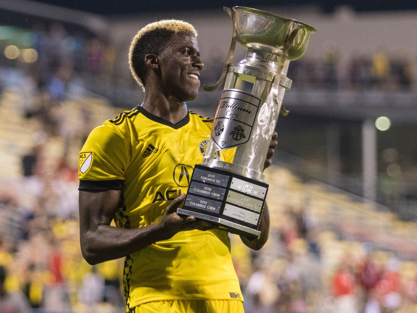 the latest af485 fe4d2 Crew SC complete three-goal, second half comeback to tie ...