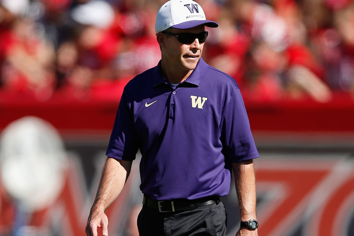 HC Chris Petersen and staff hosted 6 official visitors this past weekend