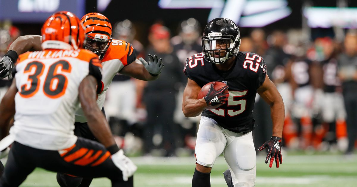 Ito Smith is primed for some big weeks for Atlanta