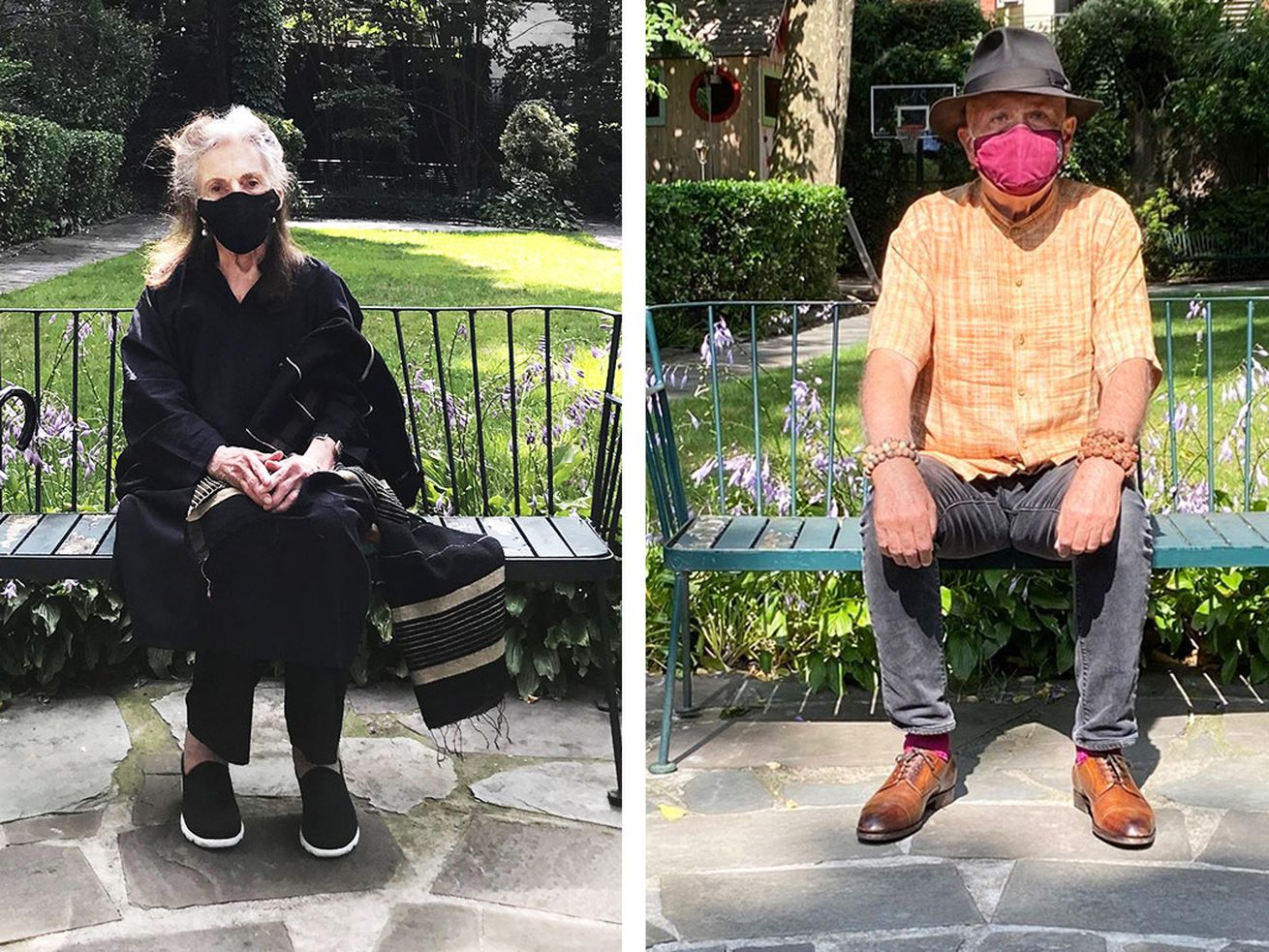 Two Legendary NYC Artists in Their Once-Bohemian Village Garden