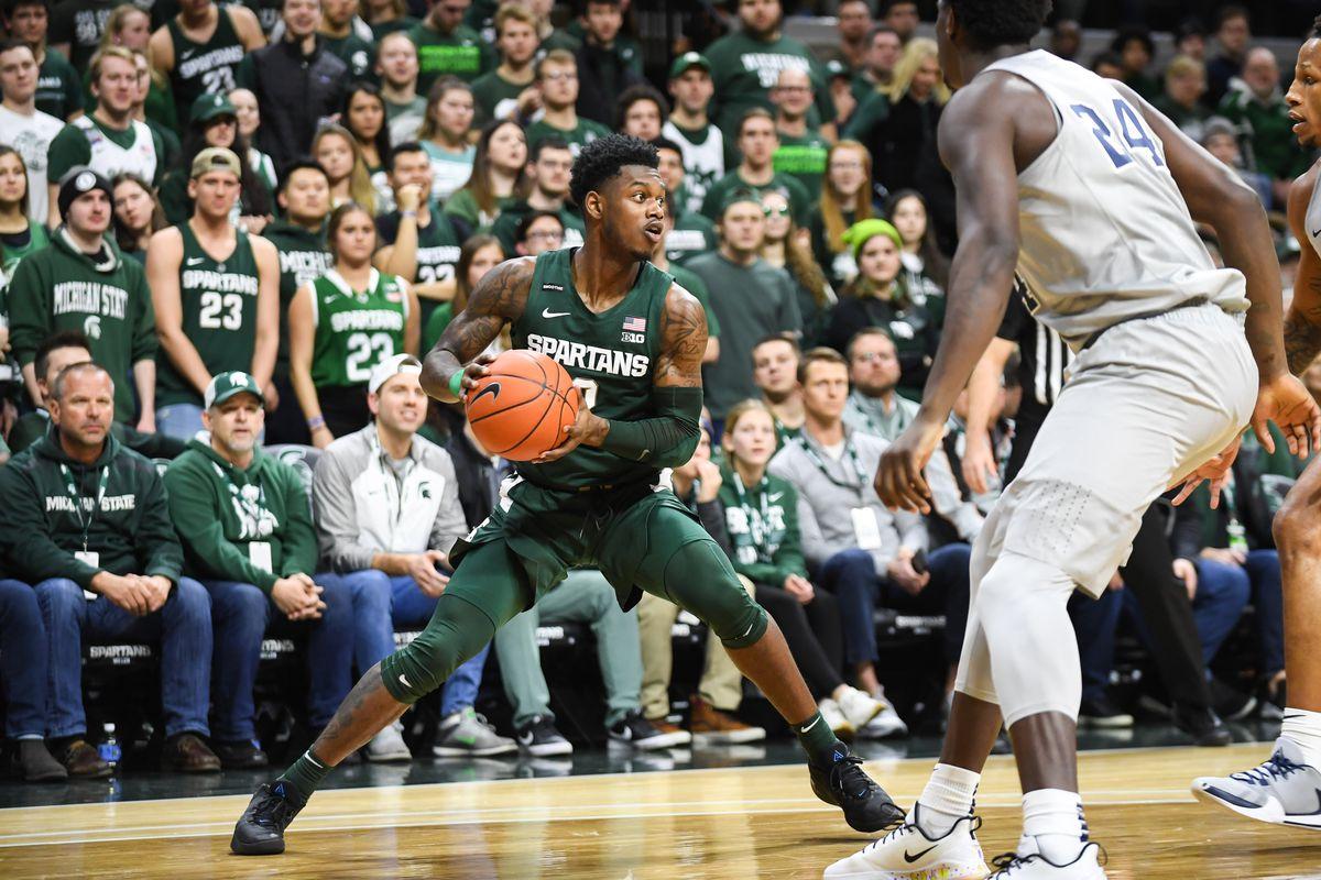 COLLEGE BASKETBALL: FEB 04 Penn State at Michigan State
