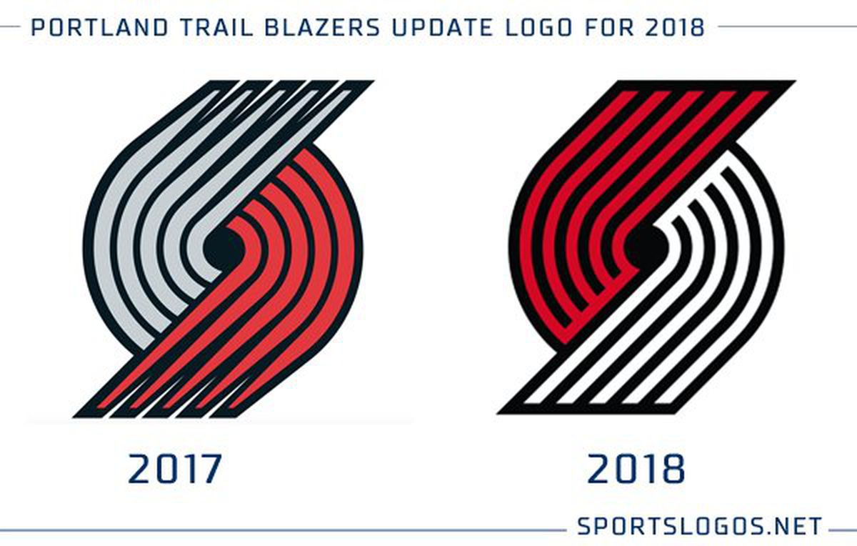 Portland Trail Blazers Reveal New Logo Blazers Edge
