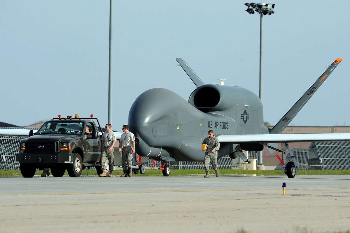The Us Has Deployed A Pair Of Surveillance Drones To Japan