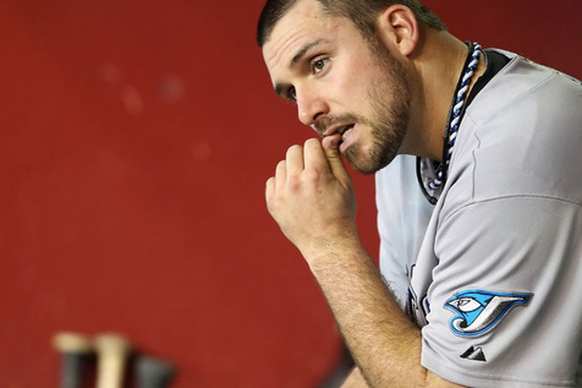 Dana Eveland ponders his opening day start with the Isotopes.