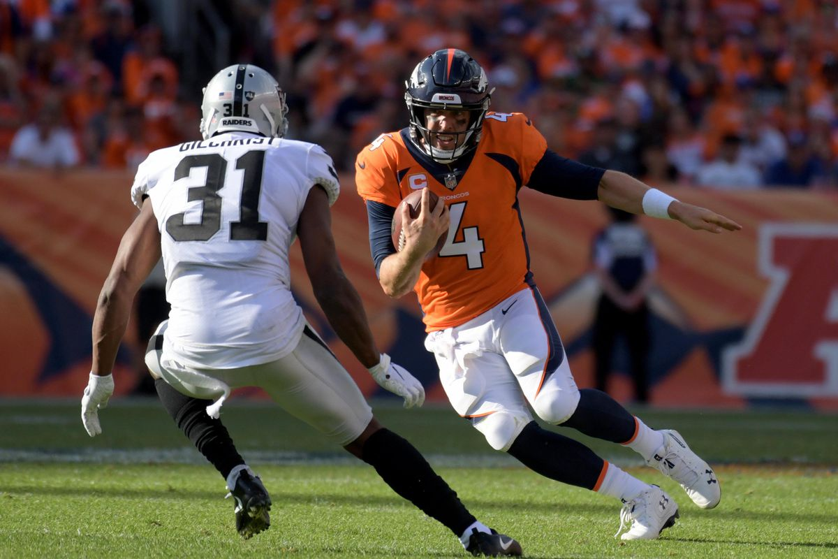 Denver Broncos and Baltimore Ravens injury report  Quarterback Case Keenum  sits out practice 005fbc0ee6de