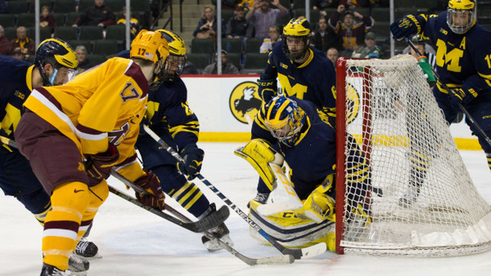 Gopher Hockey: Michigan Defeats Gophers 5-3 and Ends ... Gopher Hockey