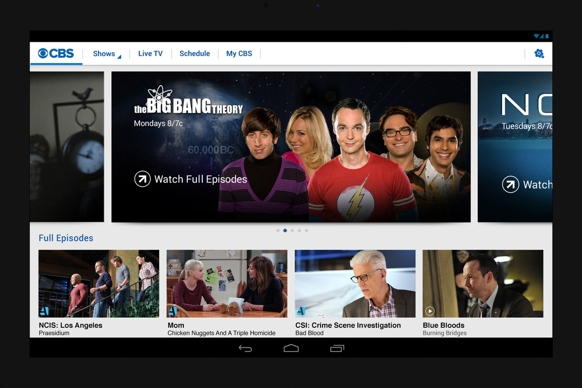 Now CBS Is Selling Web Subscriptions to Its Shows, Too