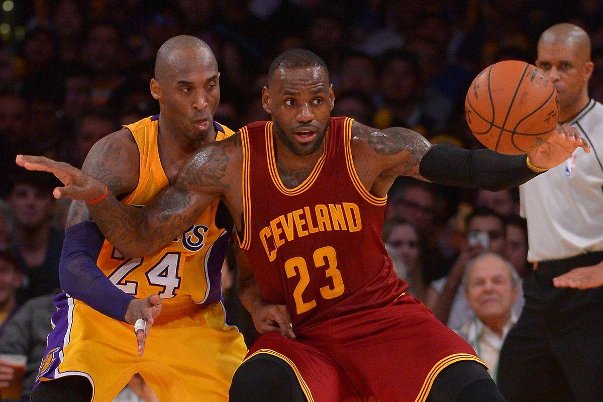 6539372d7bdba7 Lakers News  Michael Jordan thinks Kobe Bryant s still had the better  career than LeBron James