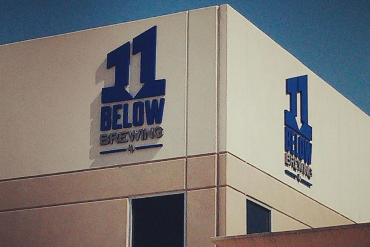 Houston's newest microbrewery, 11 Below Brewing is on track to open next month.