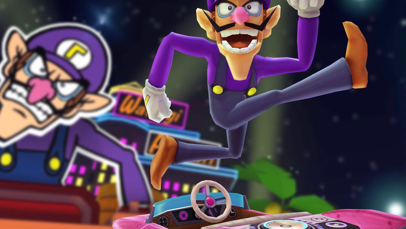 The Horrible Waluigi Is Joining Mario Kart Tour Polygon