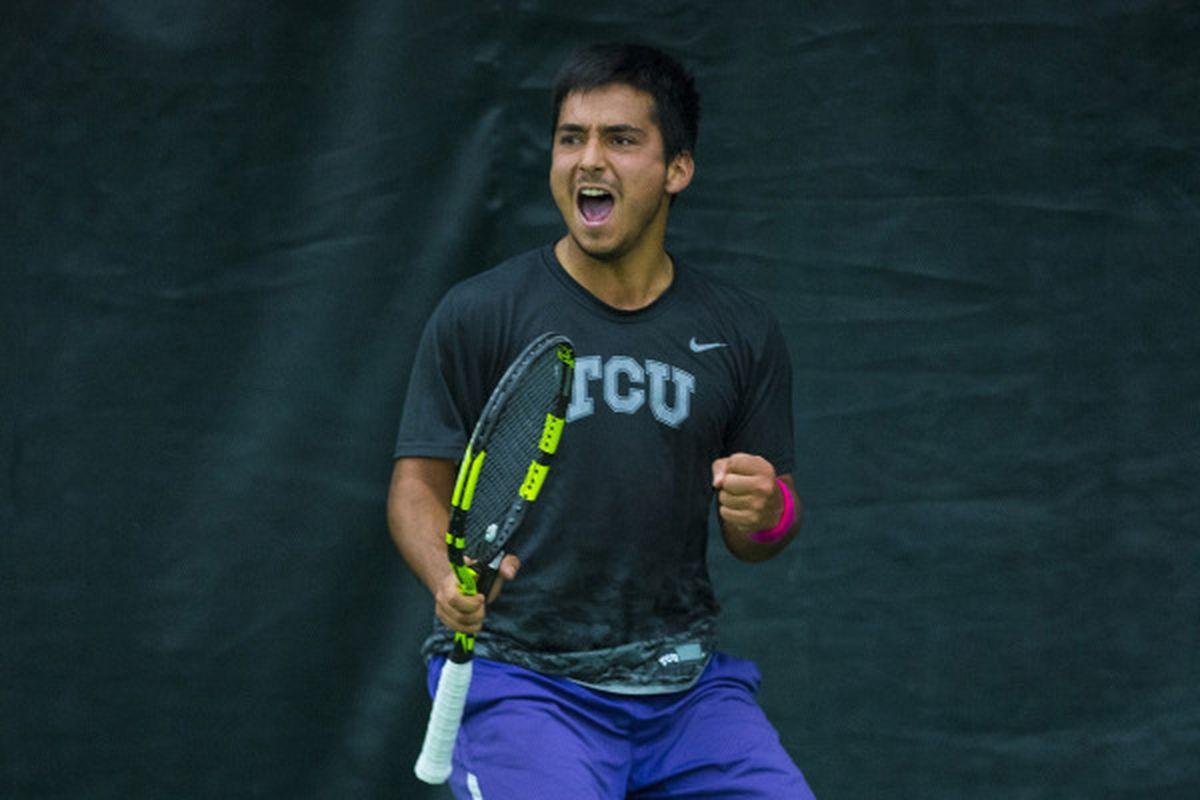 TCU Men's Tennis - Guillermo Nuñez