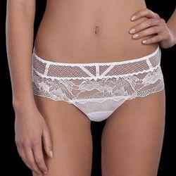 "<b>La Perla</b> Donna Eleonora Short in White, <a href=""http://www.laperla.com/en-us/bridal/lingerie/cfilpd0016180?e=676c11fa-c5f3-4d2b-8818-1ffe4e91d48c&f-size=&f-style=&f-variant=&s=relevance"">$144</a>"