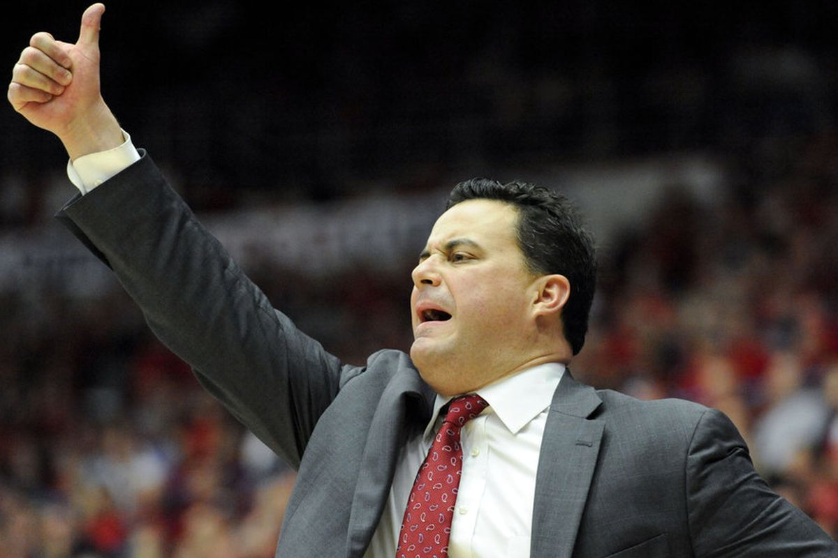 Arizona coach Sean Miller thinks its a great day for Pac-12 basketball!
