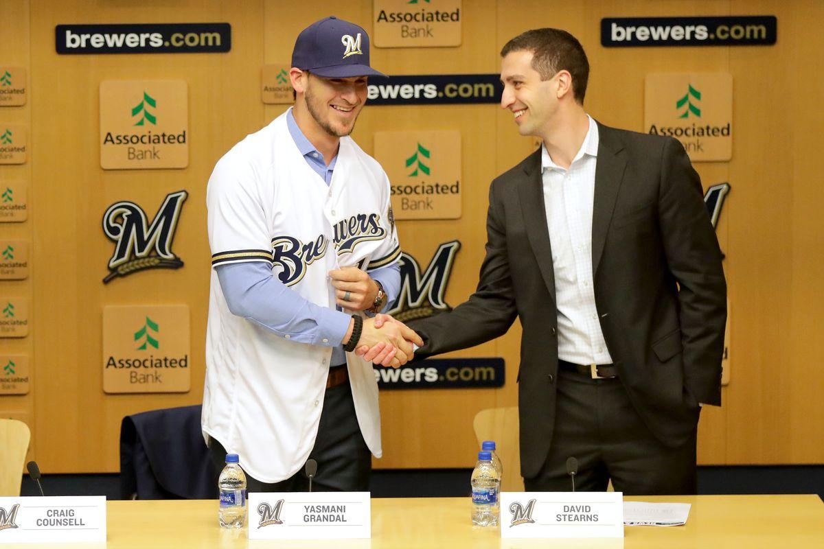 MLB: Yasmani Grandal Press Conference