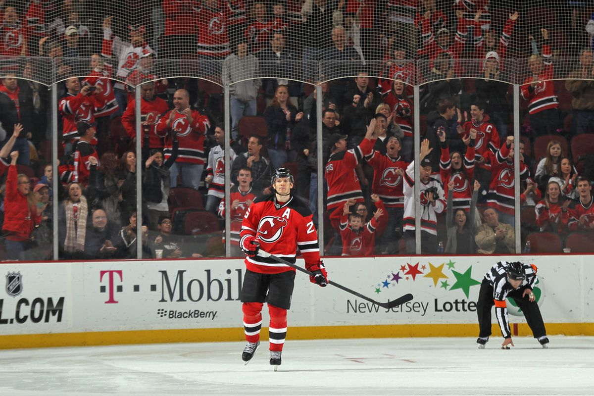 See the fans behind Elias?  It's going to cost them at least a little more in 2013 than it did in 2011-12.