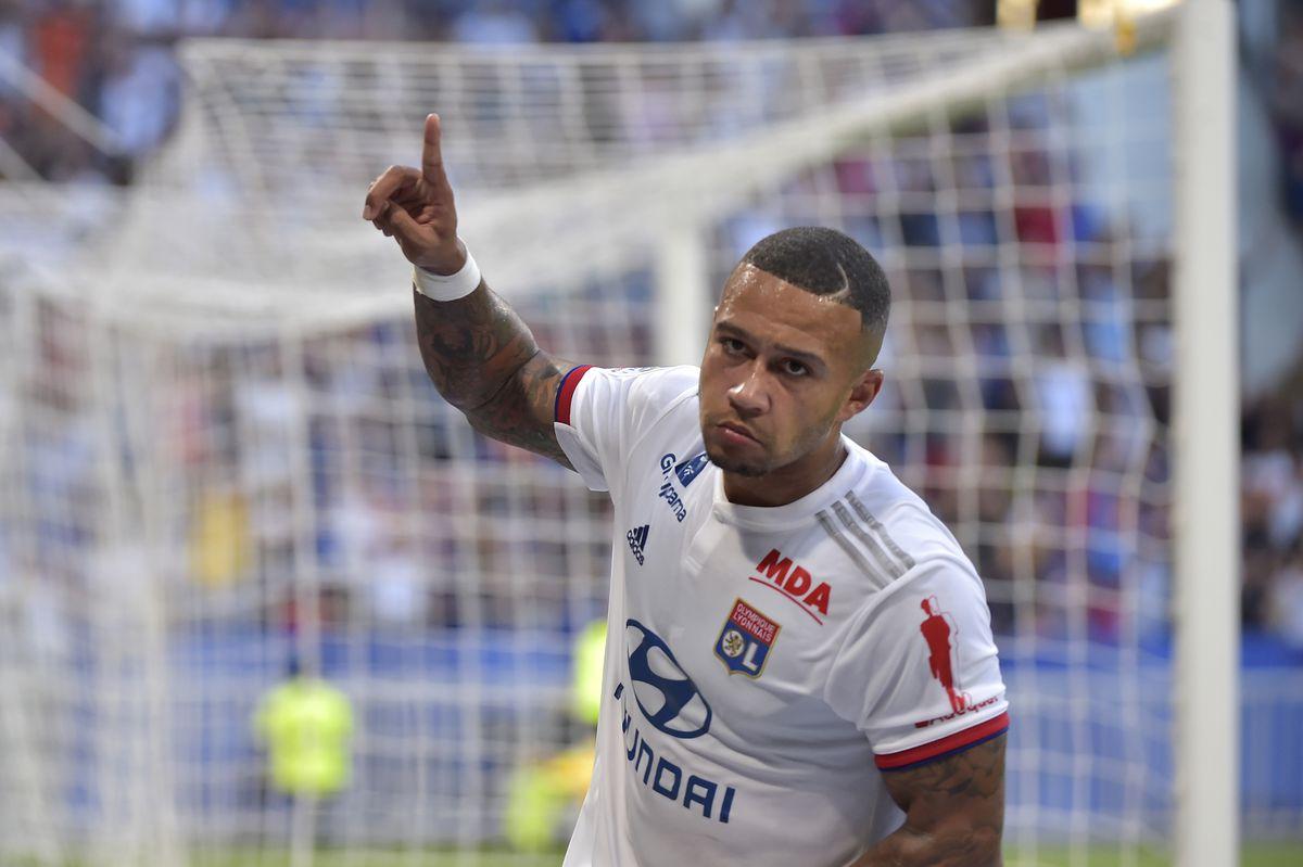Memphis Depay - Lyon - UEFA Champions League