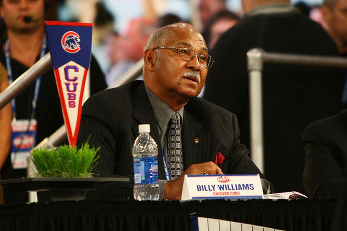 Randy Hundley will represent the Cubs at the draft this season. Billy Williams was there last year.