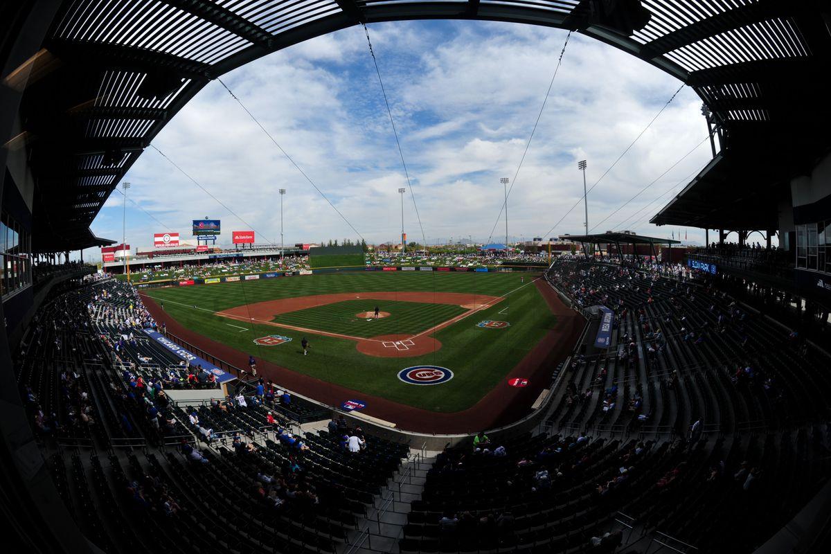 MLB: Spring Training-Cincinnati Reds at Chicago Cubs