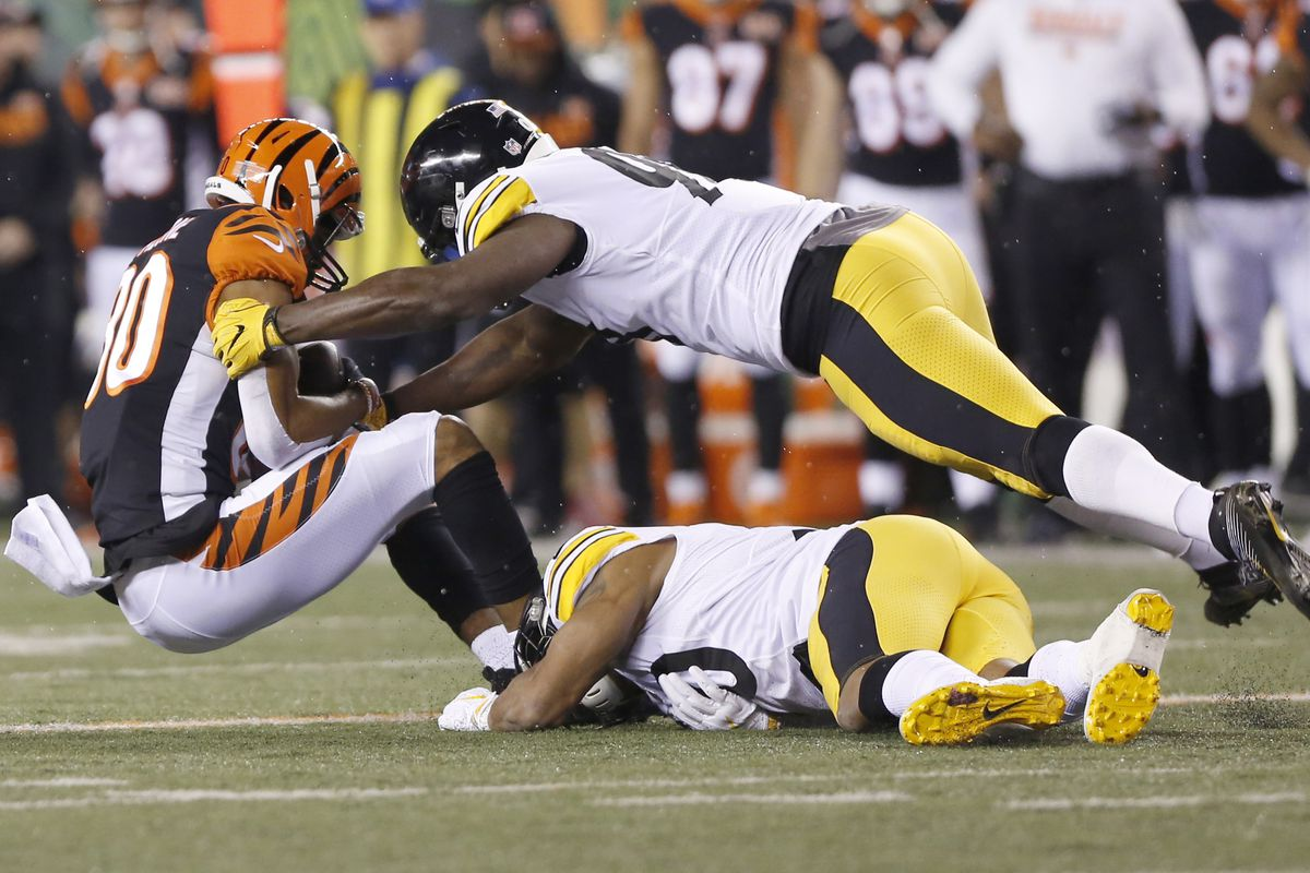 NFL Week 13  Bengals come close but fall 23-20 to Steelers - Cincy ... c2a7cc185