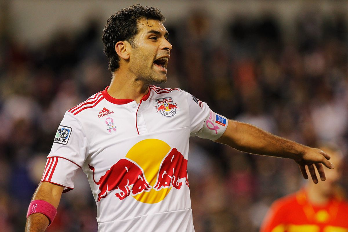 Depending on the outcome of the second leg between New York and L.A. on Thursday night, Rafa Marquez may have played his last MLS game of 2011.