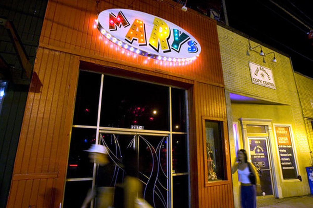 Mary's.