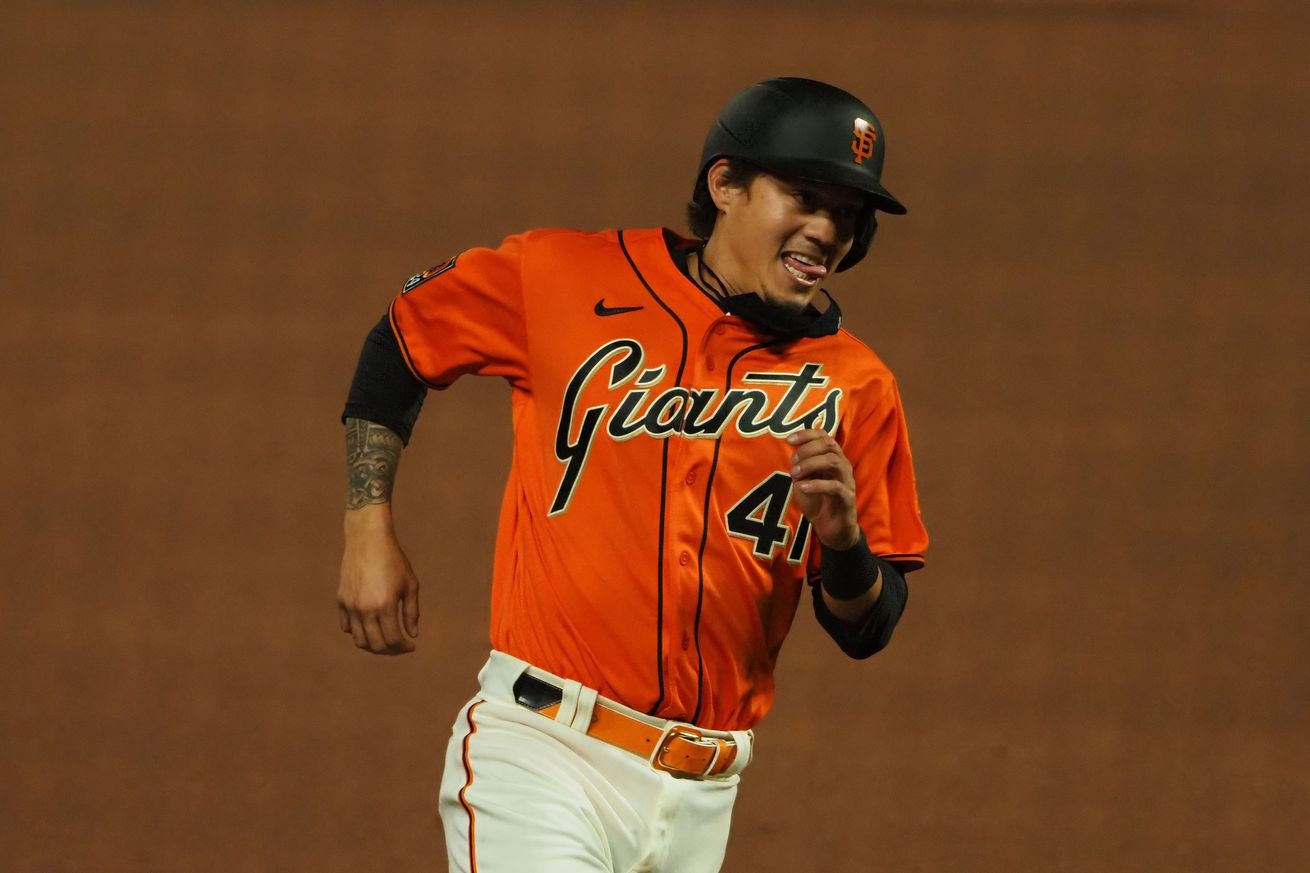 MLB: Texas Rangers at San Francisco Giants