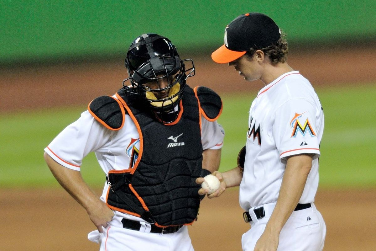 Who else might be wearing the tools of ignorance for the future Miami Marlins?