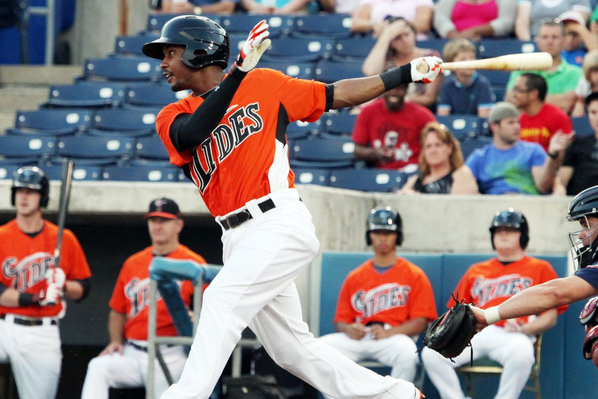 Is this the heir to Nate McLouth in LF for the O's?