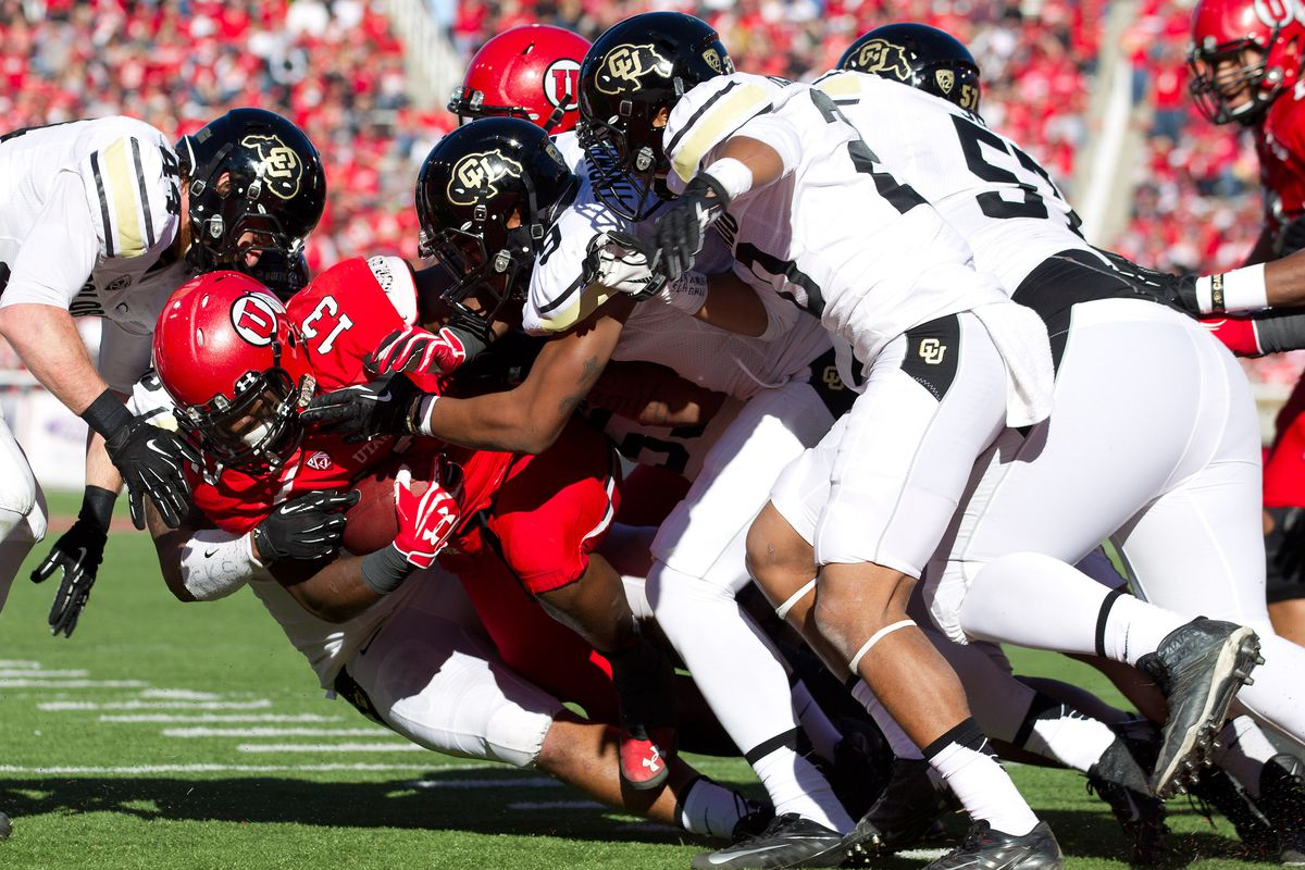 The Buffalo defense will need to swarm to the ball and hold the Utah running game in check.