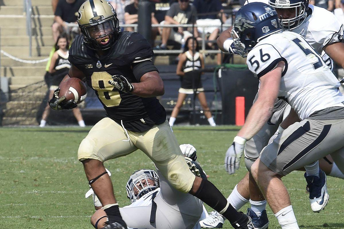 NCAA Football: Nevada at Purdue