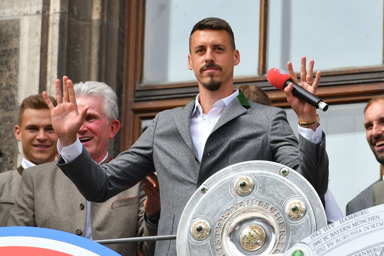 Sandro Wagner sends his support to Die Mannschaft