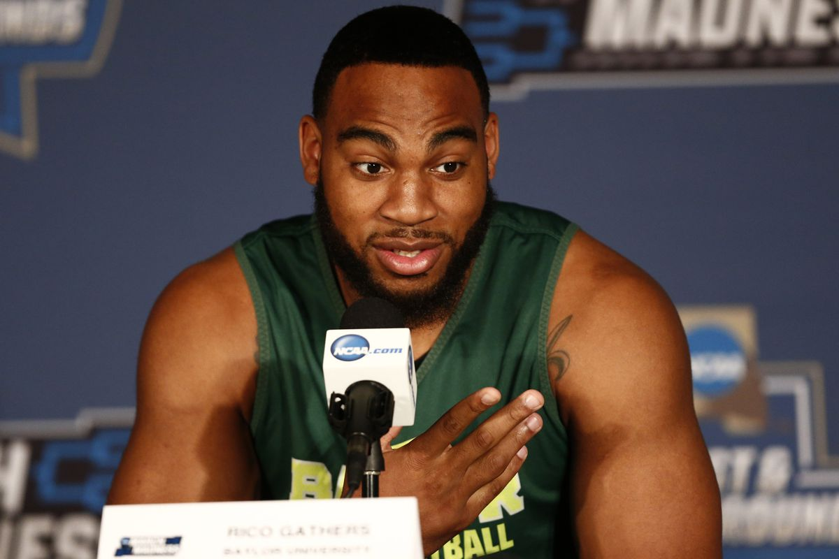Rico Gathers is preparing for the 2016 NFL Draft, in hopes of living out his dream