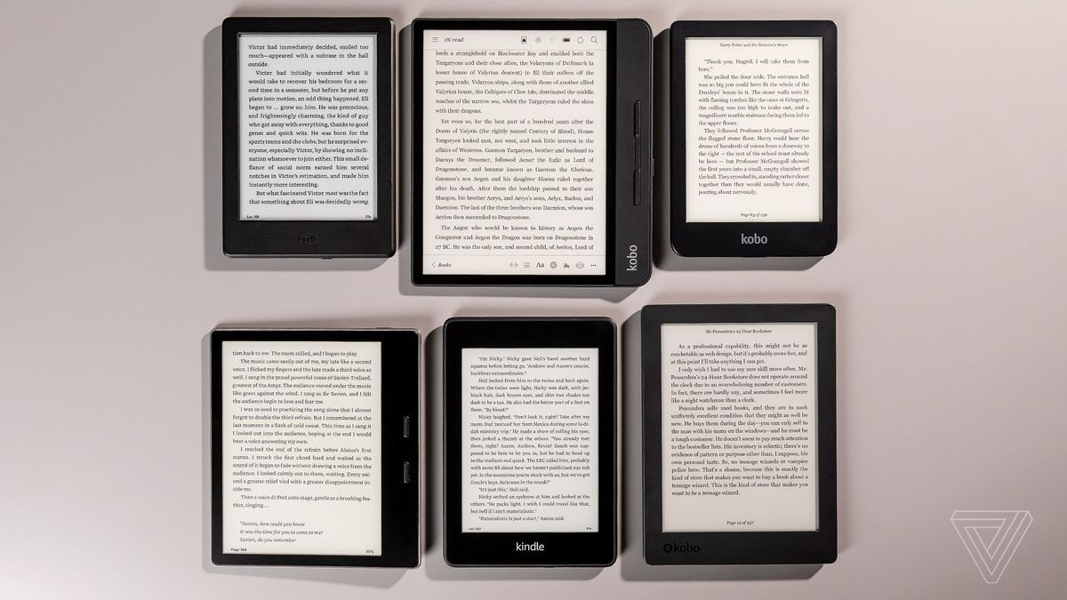Best E Reader 2020 The best e reader to buy right now   The Verge