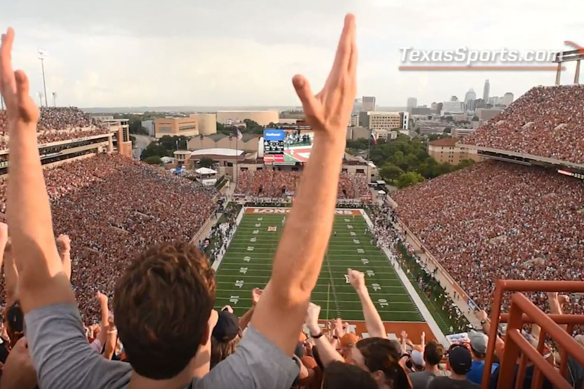 3bf35af7 WATCH: Inside the Texas football game day experience - Burnt Orange ...