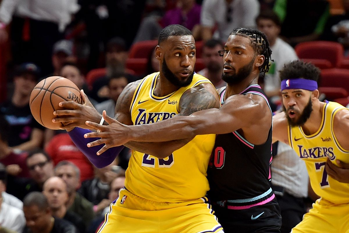 Game Preview Miami Heat Visit The Los Angeles Lakers In