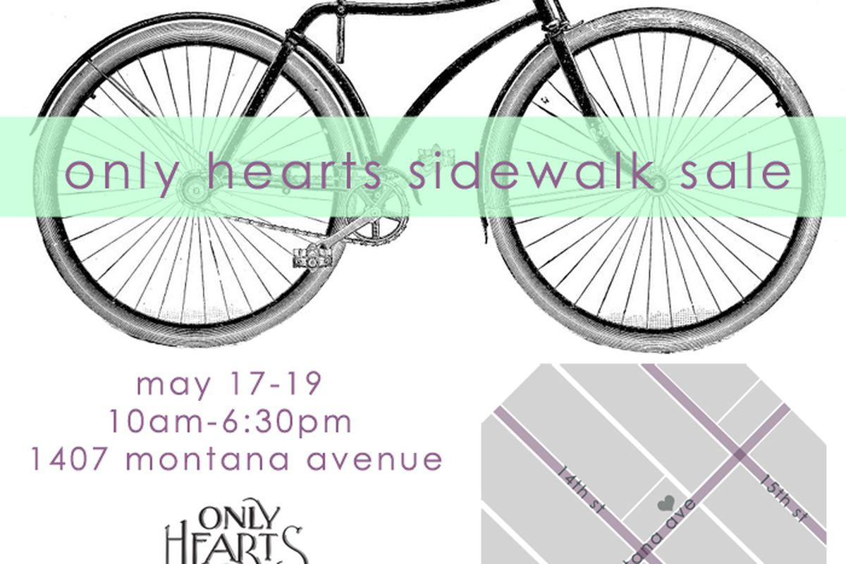 Flyer via Only Hearts