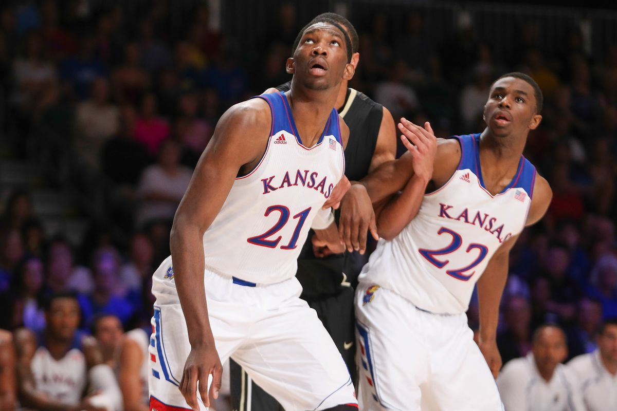 Embiid and Wiggins could go #1 and #2 in this year's draft.
