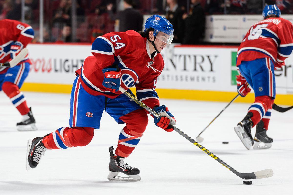 Boston Bruins v Montreal Canadiens