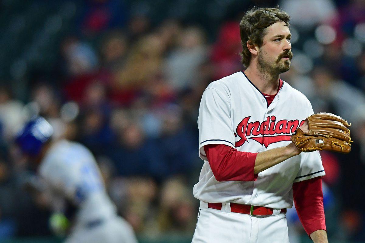 MLB: Kansas City Royals at Cleveland Indians