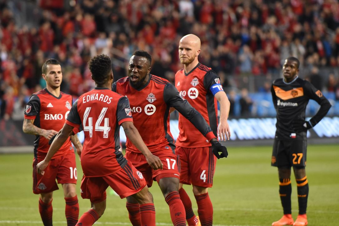 Jozy Altidore Toronto FC Houston Dynamo MLS