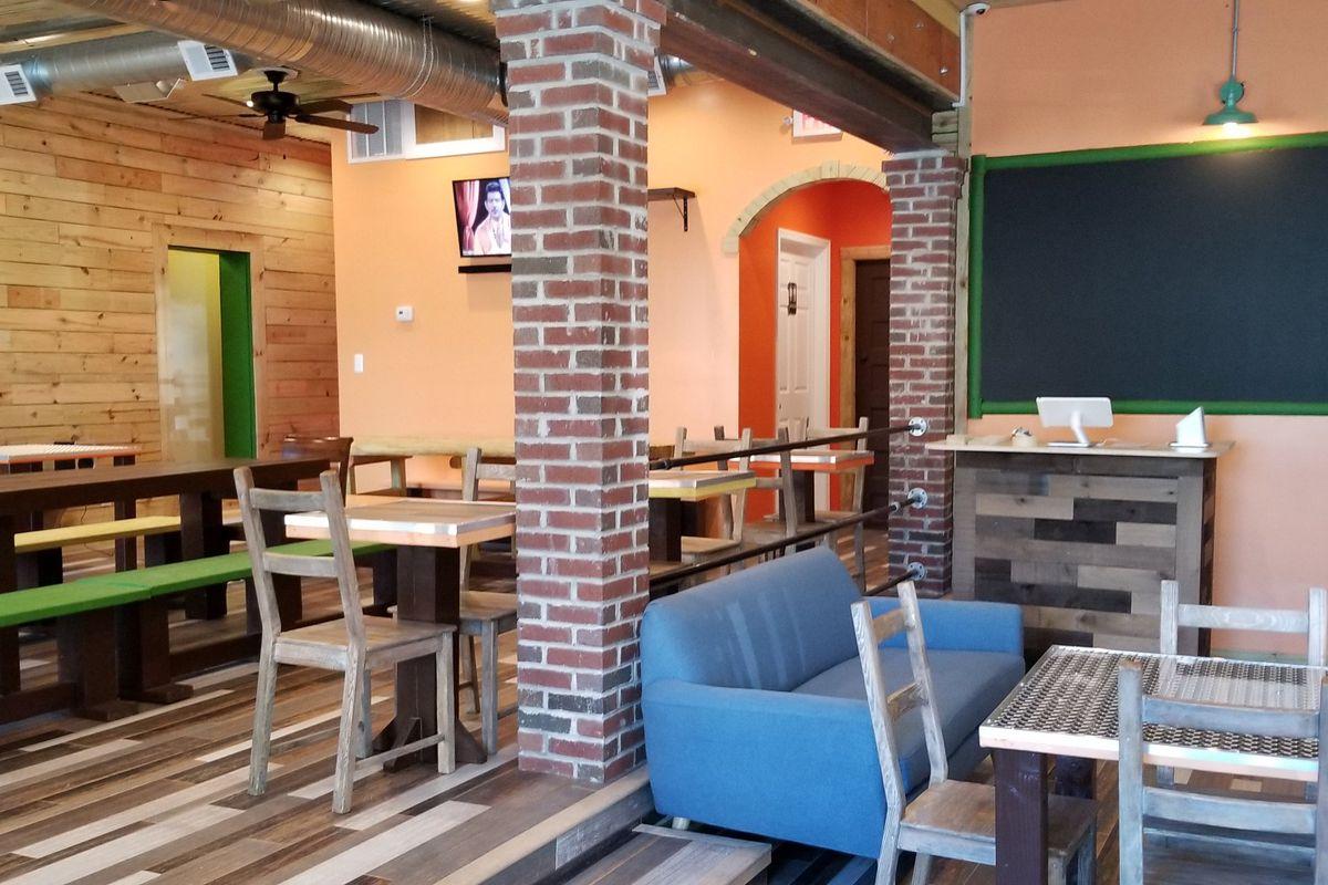 The Dining Room At Masala Story Photo