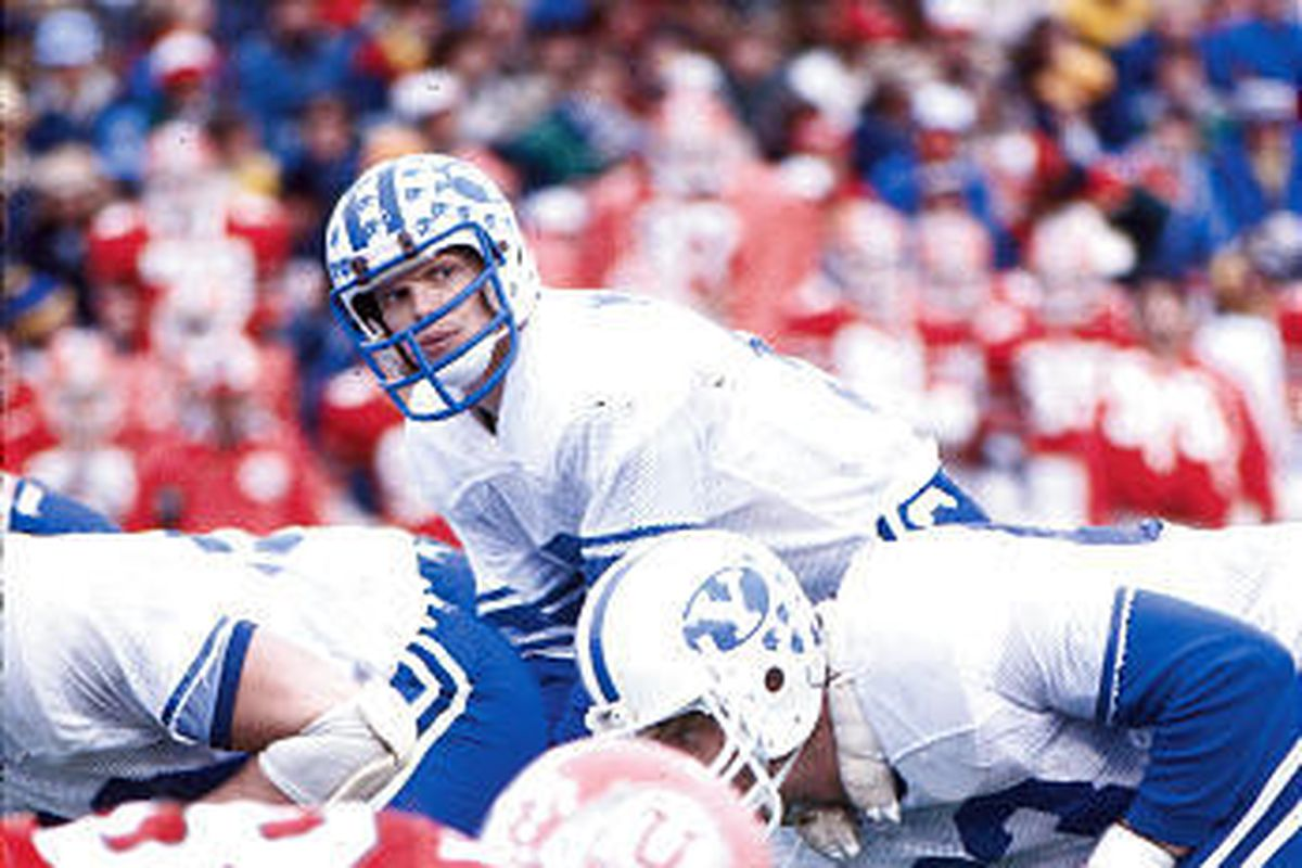 BYU athletic director Tom Holmoe honors, defends Jim McMahon's legacy with Cougars