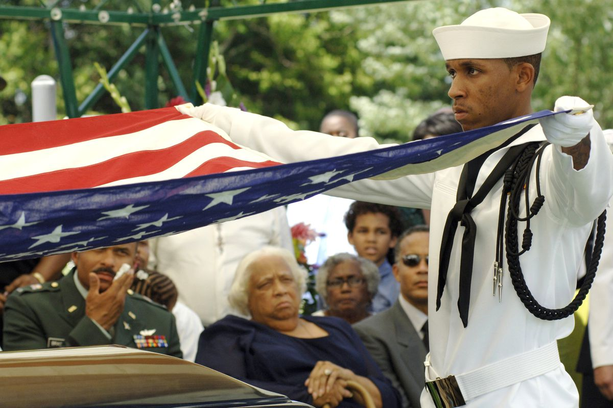 Funeral for Master Chief Petty Officer Carl Brashear