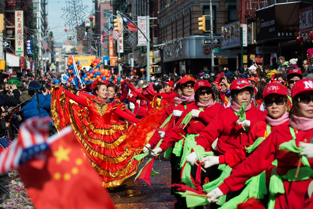 photo by bryan thomasgetty images - Chinese New Year Festival