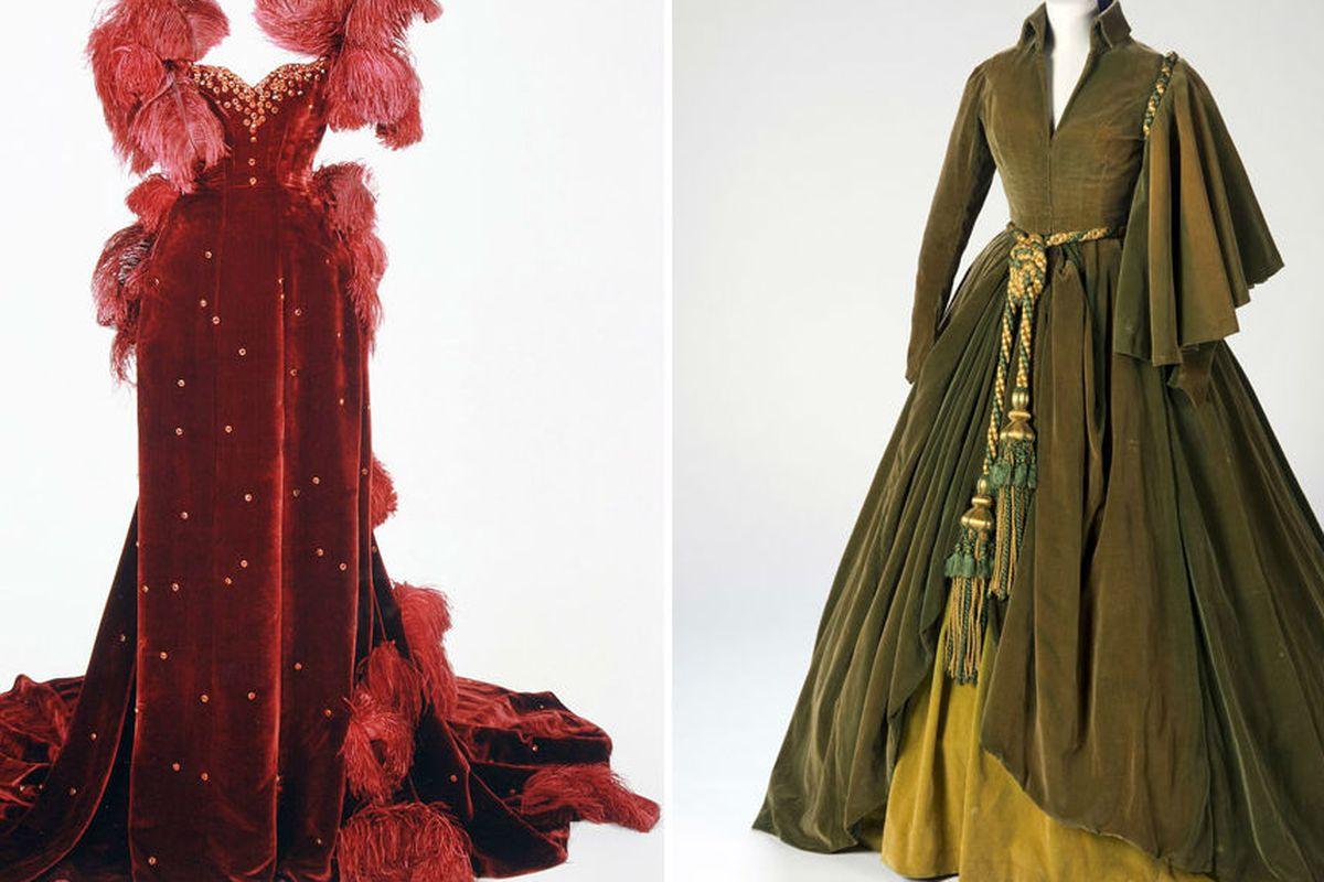 """Image via <a href=""""http://fashion.telegraph.co.uk/news-features/TMG9635384/Iconic-Gone-With-The-Wind-dresses-restored.html"""">Telegraph UK</a>"""