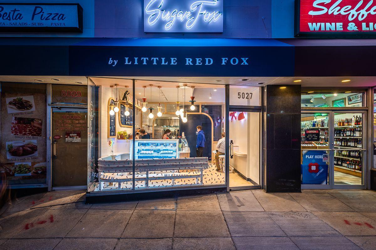 Sugar Fox storefront
