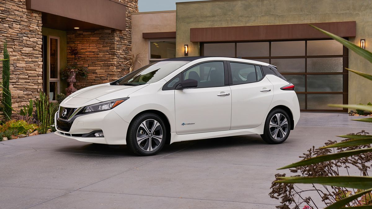 New design, more range, all electric — Nissan Leaf