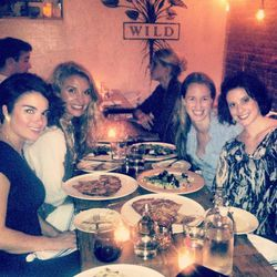 To celebrate my BFF's birthday a few of my friends and I had dinner at <b>WILD</b> pizza in the <b>West Village</b> . I learned about this restaurant from reading the book <i>Do Cool Sh*t</i>. The author, <b>Mikki Agrawal</b>, is the owner of this gluten-