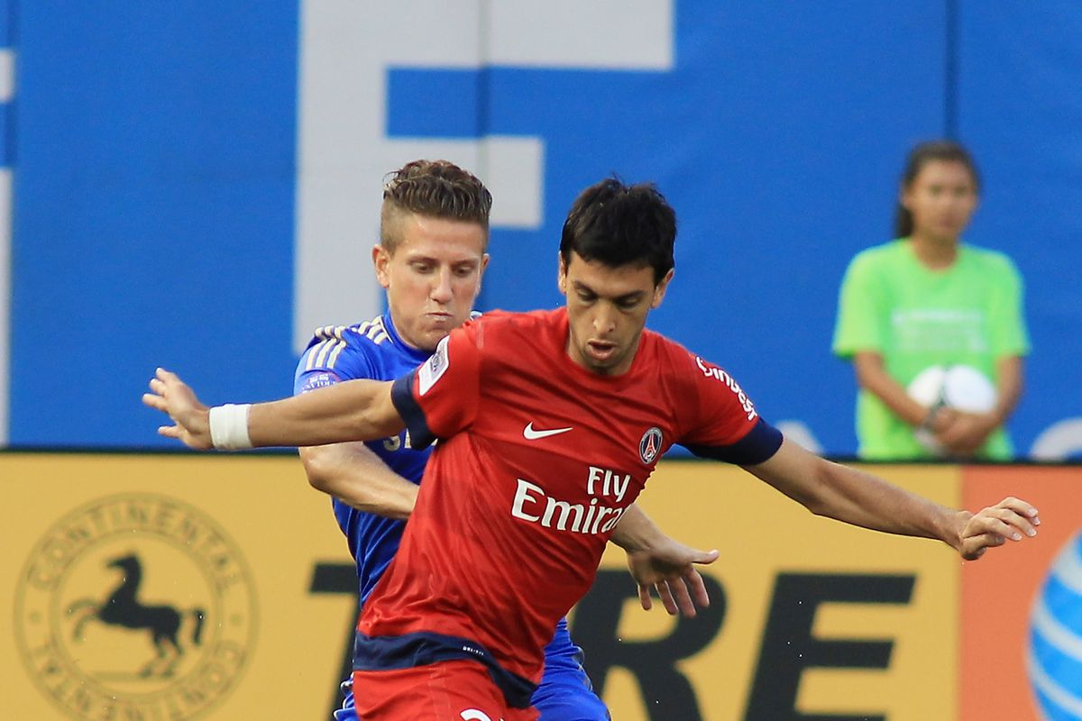 The one Chelsea defender who never lets Pastore dribble past him...